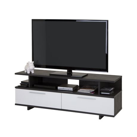 """South Shore Reflekt Tv Stand With Drawers, For Tvs Up To Inside Most Up To Date Kasen Tv Stands For Tvs Up To 60"""" (View 10 of 15)"""