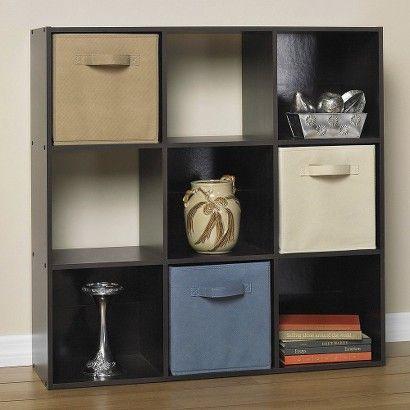 Target : Closetmaid Cubeicals® 9 Cube Organizer Espresso For Popular Alden Design Wooden Tv Stands With Storage Cabinet Espresso (View 6 of 15)