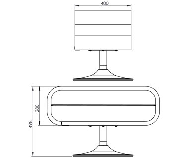 Techlink Op80B Tv Stands For 2018 Ovid White Tv Stand (View 8 of 14)