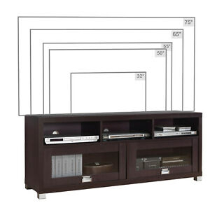"""Techni Mobili 58"""" Durbin Tv Stand For Tvs Up To 75 In Well Liked Techni Mobili 58"""" Durbin Tv Stands In Espresso Or Grey Wood (View 3 of 15)"""
