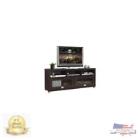 """Techni Mobili 58"""" Durbin Tv Stand For Tvs Up To 75"""",Black Inside Current Techni Mobili 58"""" Durbin Tv Stands In Espresso Or Grey Wood (View 13 of 15)"""