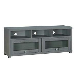 """Techni Mobili Durbin 58"""" Wide Stand For Tvs Up To 75"""" Inch With Regard To 2018 Techni Mobili 58"""" Durbin Tv Stands In Espresso Or Grey Wood (View 11 of 15)"""