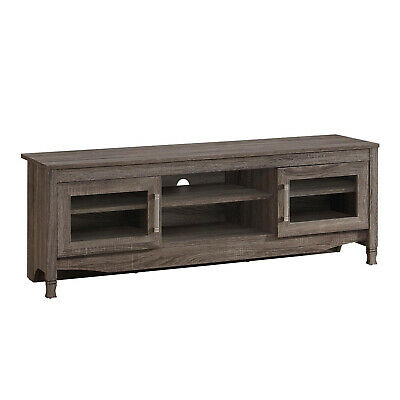 """Techni Mobili Grey Driftwood Tv Stand Grey Compressed Wood Inside Newest Techni Mobili 53"""" Driftwood Tv Stands In Grey (View 9 of 15)"""