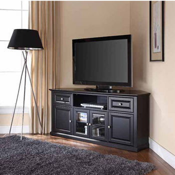 Television Stands Featuring Open Or Covered Storage Throughout Most Recently Released Winsome Wood Zena Corner Tv & Media Stands In Espresso Finish (View 1 of 15)