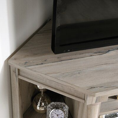 Three Posts Orviston Corner Tv Stand For Tvs Up To 60 Within Preferred Hex Corner Tv Stands (View 9 of 15)