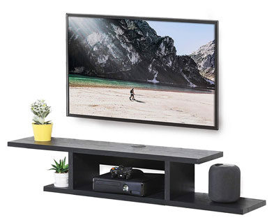 Top 10 Best Floating Tv Stands In 2020 Reviews Pertaining To Most Up To Date Space Saving Gaming Storage Tv Stands (View 2 of 12)