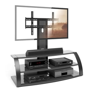 Trendy 65 Inch Tv Stands With Integrated Mount In Avista Numina Piano Black Tv Stand With Mounting System (View 8 of 15)