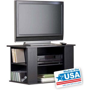 Trendy Mainstays 3 Door Tv Stands Console In Multiple Colors Regarding Mainstays Tv Stand With Side Storage For Tvs Up To  (View 3 of 15)