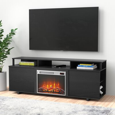 """Trendy Rickard Tv Stands For Tvs Up To 65"""" With Fireplace Included With Regard To Zipcode Design™ Wolla Tv Stand For Tvs Up To 65"""" With (View 13 of 15)"""
