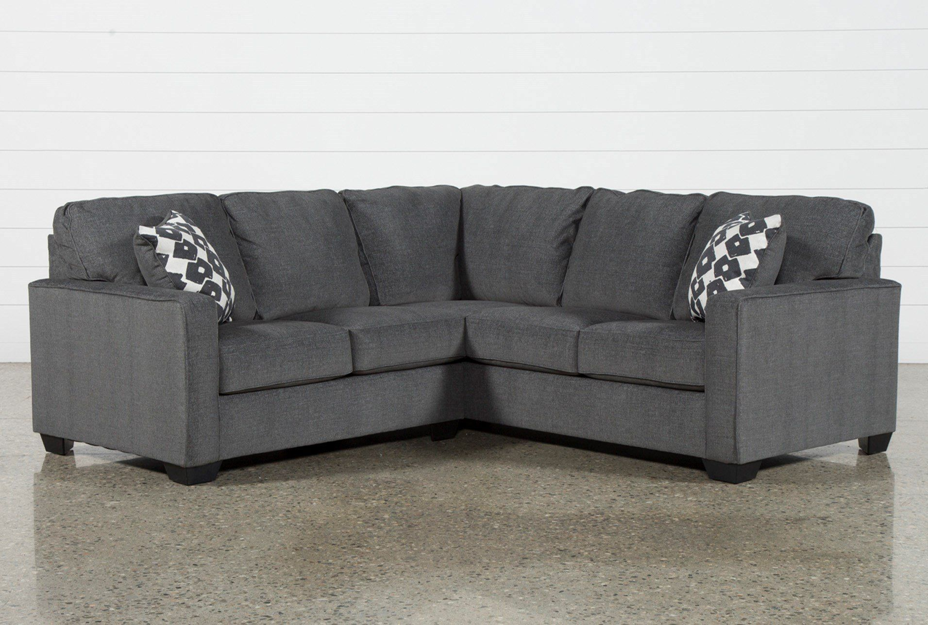 """Turdur 2 Piece 92"""" Sectional With Left Arm Facing Loveseat Inside Turdur 2 Piece Sectionals With Laf Loveseat (View 11 of 15)"""