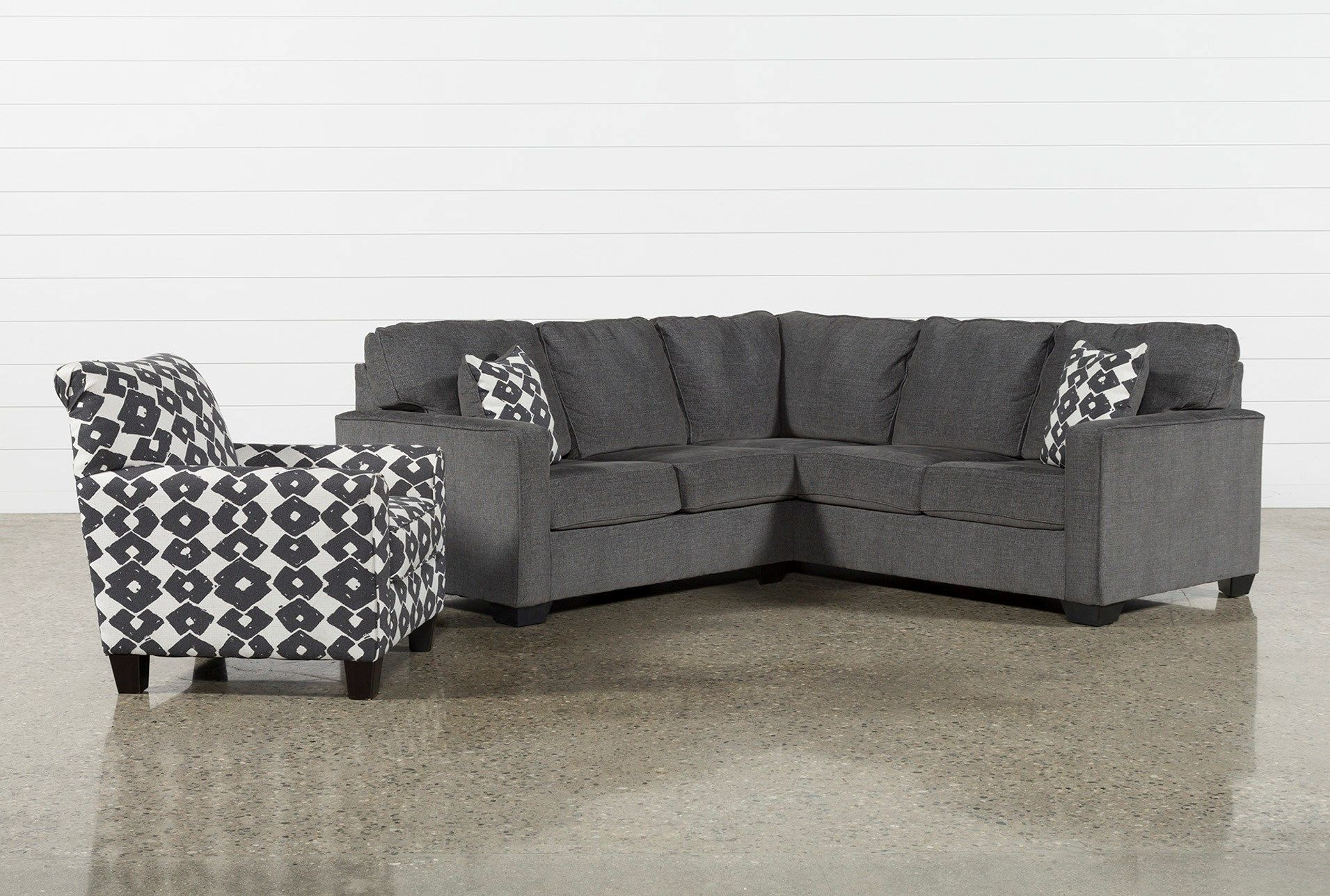 Turdur 2 Piece Left Arm Facing Sectional With Accent Chair Throughout Turdur 2 Piece Sectionals With Laf Loveseat (View 6 of 15)
