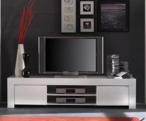 Tv & Media Inside Fashionable Black Gloss Tv Wall Unit (View 5 of 15)