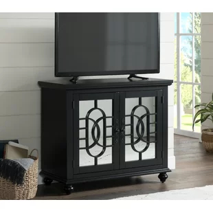 Tv Stand 36 Inches Wide Black (View 12 of 15)