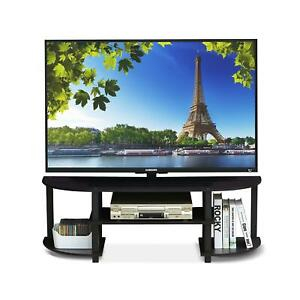 Tv Stand 55 Inch Flat Screens Mount Entertainment Center For 2017 Furinno Jaya Large Tv Stands With Storage Bin (View 3 of 15)