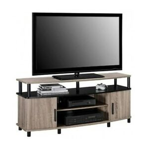 Tv Stand Entertainment Center Modern Furniture Storage Pertaining To Newest Chromium Tv Stands (View 10 of 15)