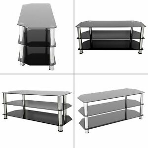Tv Stand Tempered Glass Up To 55 In (View 7 of 15)