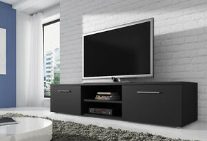 Tv Unit Cabinet Tv Stand Entertainment Lowboard Vegas Within Preferred Dillon Black Tv Unit Stands (View 13 of 15)