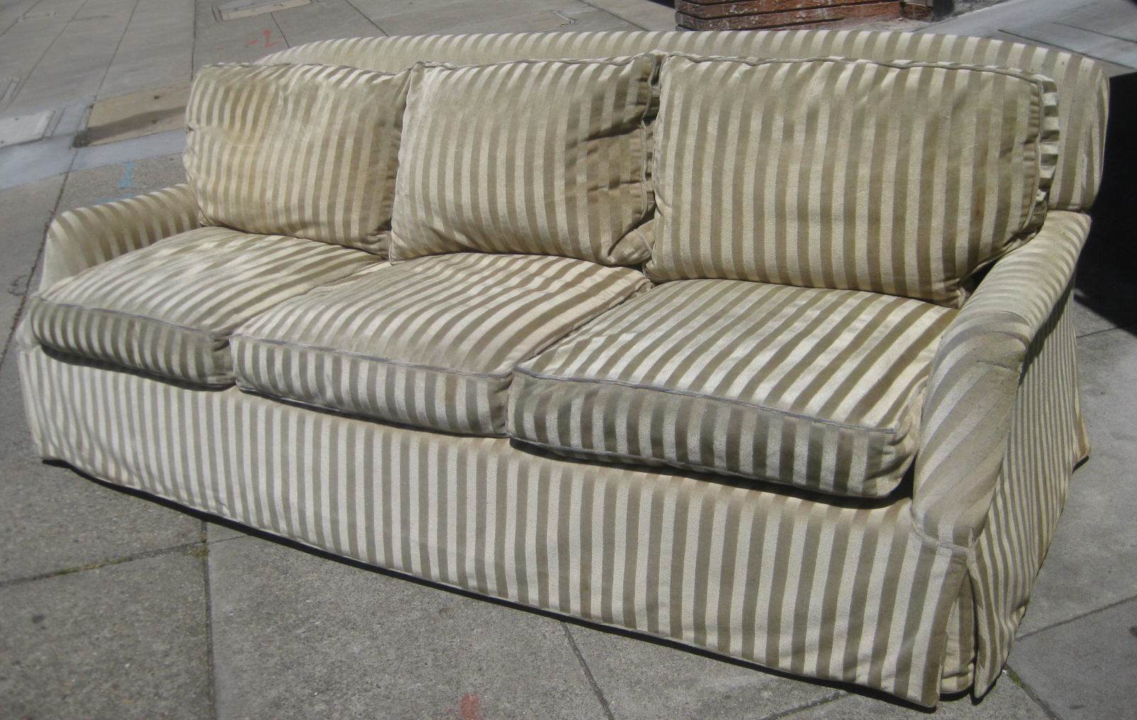 Uhuru Furniture & Collectibles: Sold – Down Filled Sofa – $120 Intended For Down Filled Sofas (View 11 of 15)