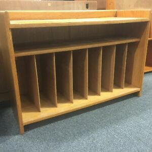 Vintage Midcentury Modern Lp Vinyl Record Cabinet,Tv Stand Intended For Most Up To Date Owen Retro Tv Unit Stands (View 14 of 15)