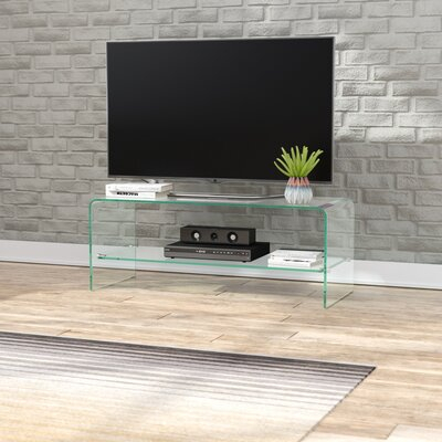 """Wade Logan® Selsey Tv Stand For Tvs Up To 43"""" & Reviews With Regard To Most Recently Released Orrville Tv Stands For Tvs Up To 43"""" (View 11 of 15)"""