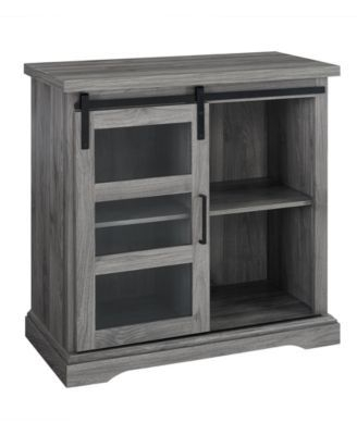 Walker Edison Modern Tv Stand With Glass Door Accent With Regard To Most Recently Released Walker Edison Contemporary Tall Tv Stands (View 13 of 15)