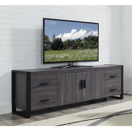 Walmart Canada Regarding Most Popular Entertainment Center Tv Stands Reclaimed Barnwood (View 2 of 15)