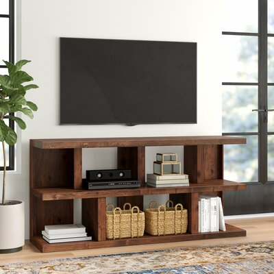 """Wayfair With Famous Griffing Solid Wood Tv Stands For Tvs Up To 85"""" (View 14 of 15)"""