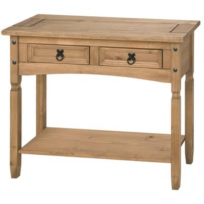 Well Known Cambourne Tv Stands For Corona 2Dwr Console With Shelf – Low Cost Furniture Direct (View 9 of 15)