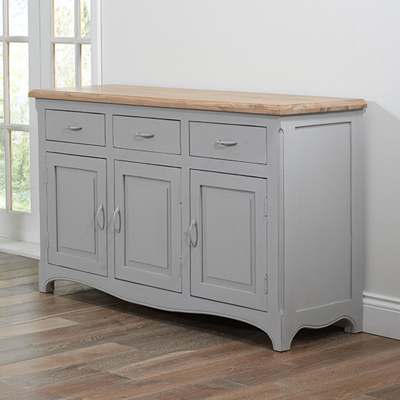 Well Known Coffee Tables And Tv Stands Matching With Regard To Seville Grey Painted Distressed Sideboard – Robson Furniture (View 12 of 15)