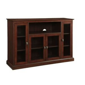 """Well Known Convenience Concepts Newport Marbella 60"""" Tv Stands Within Convenience Concepts Designs2Go Summit Highboy Tv Stand In (View 1 of 15)"""
