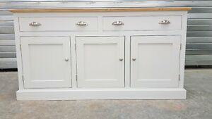 Well Known Corona Small Tv Stands Pertaining To New 5Ft Solid Pine Painted Sideboard/Tv Cabinet/Welsh (View 6 of 15)