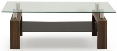 Well Known Milan Glass Tv Stands Inside Jual Curve Walnut Tv Cabinet Jf207 – Cfs Furniture Uk (View 3 of 15)