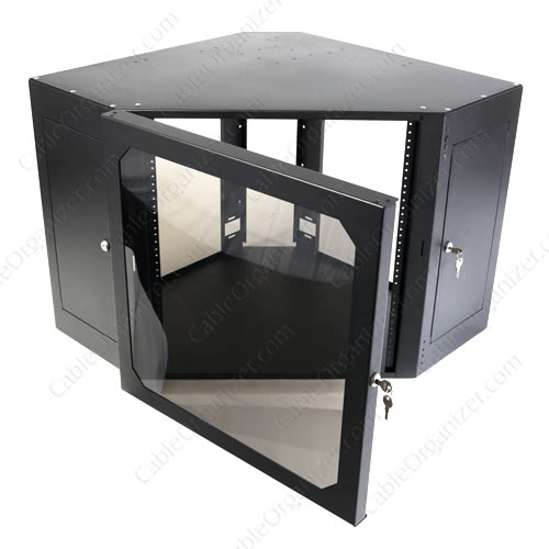Well Known Milan Glass Tv Stands Within Corner Av Rack – Ideas On Foter (View 6 of 15)