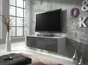 Well Known Owen Retro Tv Unit Stands Inside Floating Tv Unit Cabinet Stand Rocco 100 Cm Body Matte (View 11 of 15)