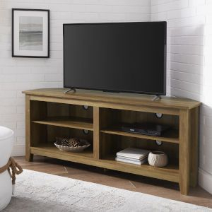 Well Known Priya Corner Tv Stands Throughout Walker Edison Furniture Co (View 4 of 15)
