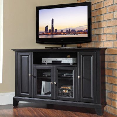 """Well Known Retro Corner Tv Stands For Hokku Designs 48"""" Tv Stand (View 2 of 15)"""