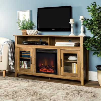 Well Known Rustic Tv Stands Intended For Walker Edison Furniture Company 48 In (View 3 of 15)