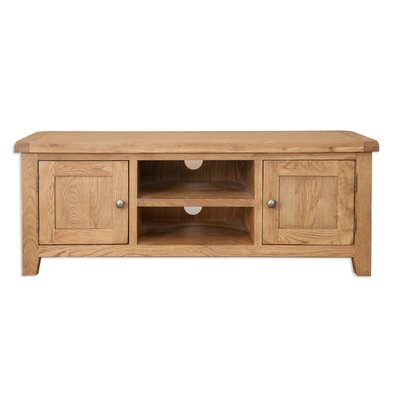 Well Known Sherbourne Oak Corner Tv Stands For Buy Oak Tv Stands & Entertainment Units You'Ll Love (View 2 of 14)