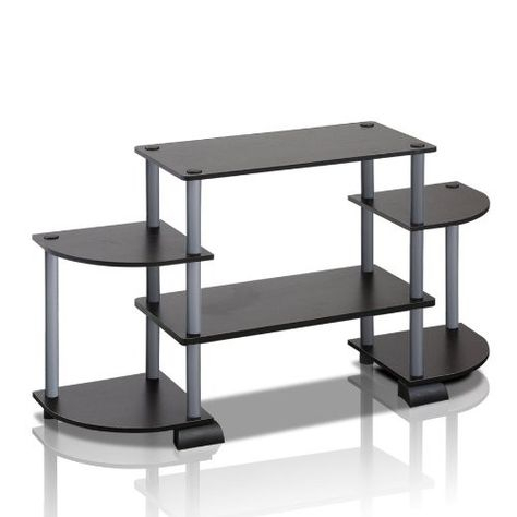 Well Liked Furinno Jaya Large Entertainment Center Tv Stands For Furinno Turn N Tube Rounded Corner Tv Entertainment Center (View 11 of 15)