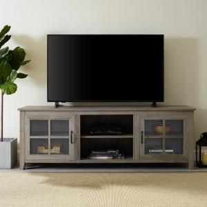 Well Liked Walker Edison Contemporary Tall Tv Stands With Walker Edison 70 In (View 15 of 15)