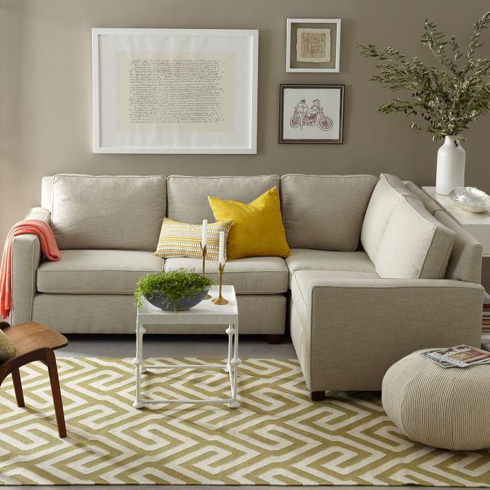 West Elm Henry Sofa Reviews Eco Friendly Henry Loveseat Regarding West Elm Sectional Sofas (View 4 of 15)