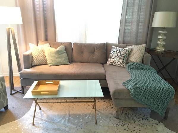 West Elm Jackson 2 Piece Chaise Sectional Sofa | Casas Regarding Elm Grande Ii 2 Piece Sectionals (View 10 of 15)