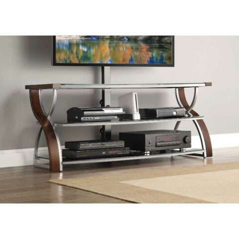 """Whalen Nova 3 In 1 Tv Stand For Tvs Up To 60 65In  New In Intended For Well Known Twila Tv Stands For Tvs Up To 55"""" (View 11 of 15)"""