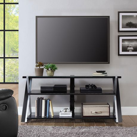 """Whalen Xavier 3 In 1 Tv Stand For Tvs Up To 70"""" (View 1 of 15)"""