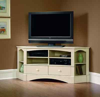 White Corner Tv Stand Entertainment Center Cabinet Media In Well Known Hannu Tv Media Unit White Stands (View 6 of 15)