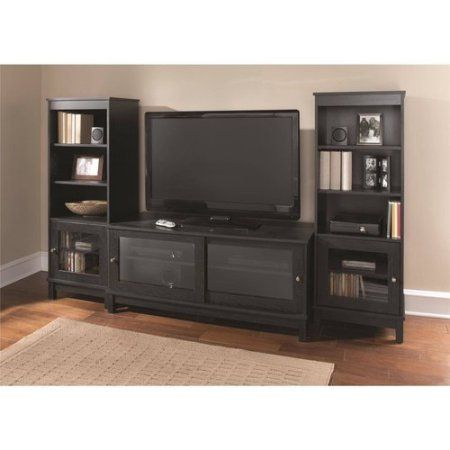 """Widely Used 65 Inch Tv Stands With Integrated Mount Within Mainstays Tv Stand For Tvs Up To 55"""", Multiple Finishes (View 4 of 15)"""