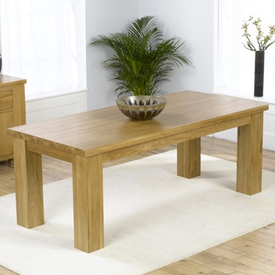 Widely Used Bromley Oak Tv Stands Within Belgravia Solid Oak 180Cm Dining Table With 6 Bromley (View 4 of 15)