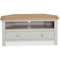 Widely Used Bromley Slate Tv Stands For Dunelm 5054077927222 Lucy Cane Grey Corner Tv Stand Slate (View 3 of 15)