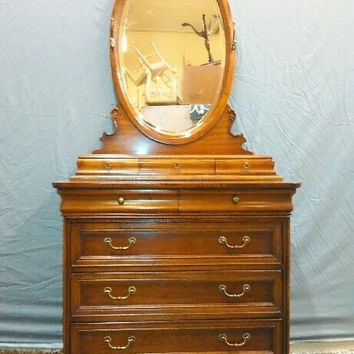 Widely Used Hanna Oyster Wide Tv Stands For Lexington Antique Dresser – Dresser (View 5 of 15)