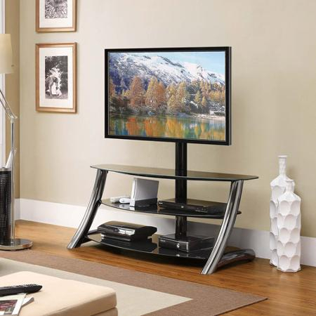 Widely Used Modern Black Floor Glass Tv Stands With Mount With Best 50 Inch Tv Under $600 For 2020 2021 – Best Tv For The (View 14 of 15)